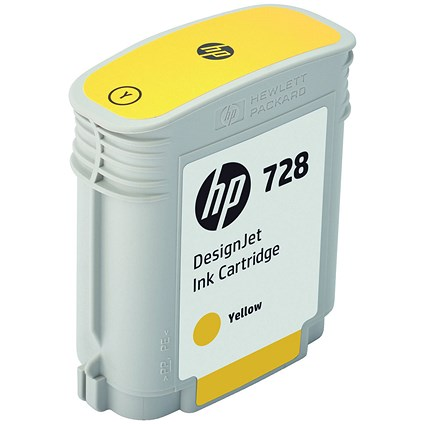 HP 728 Yellow DesignJet Ink