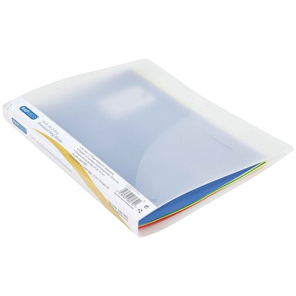 Rapesco Ring Binder, A4+, 2 O-Ring, 15mm Capacity, Clear, Pack of 10