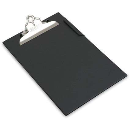 Rapesco Heavy Duty Clipboard Foolscap Black