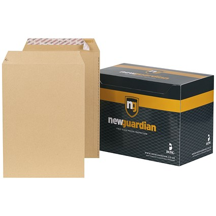 New Guardian Heavyweight C4 Pocket Envelopes / Manilla / Peel & Seal / 130gsm / Pack of 250