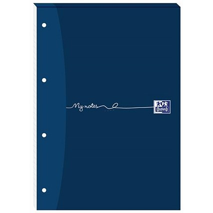 Oxford MyNotes Headbound Refill Pad / A4 / Squared 5mm / 4 Holes / 160 Pages / Pack of 5