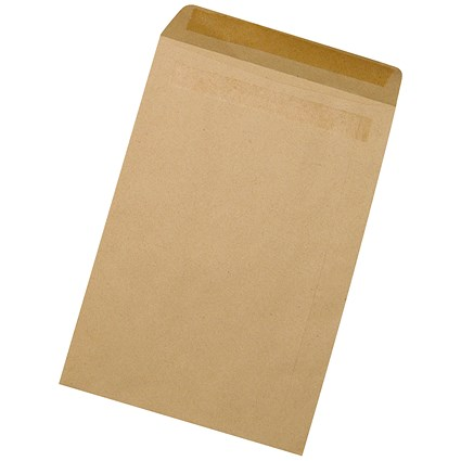 5 Star Manilla C5 Envelopes, Press Seal, 90gsm, Pack of 500