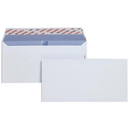 Plus Fabric DL Envelopes Wallet Peel and Seal 120gsm White (Pack of 250)