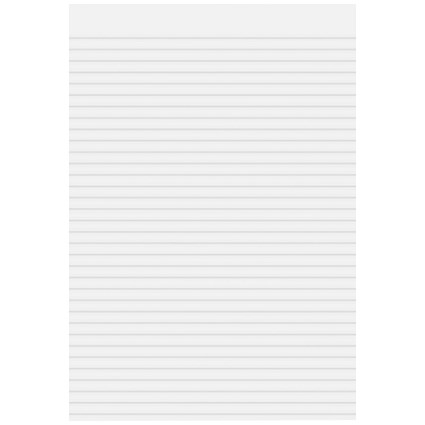 Cambridge Memo Pad, A4, Ruled, 80 Sheets, Pack of 5