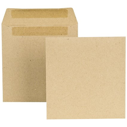 New Guardian Wage Envelopes, 108x102mm, Press Seal, Manilla, Pack of 1000