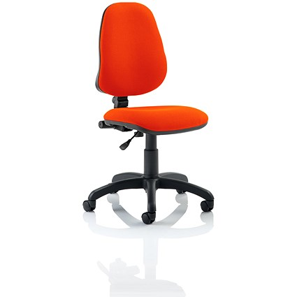 Eclipse 1 Lever Task Operator Chair - Tabasco Red