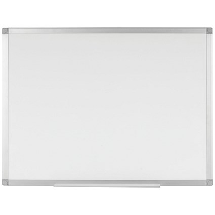 Q-Connect Magnetic Dry Wipe Board - W900xH600mm