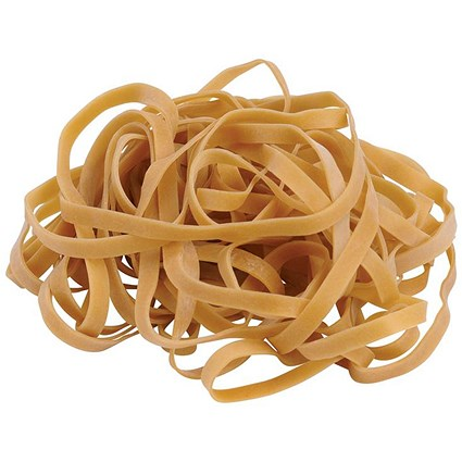 Q-Connect Rubber Bands No.19 88.9 x 1.6mm 500g