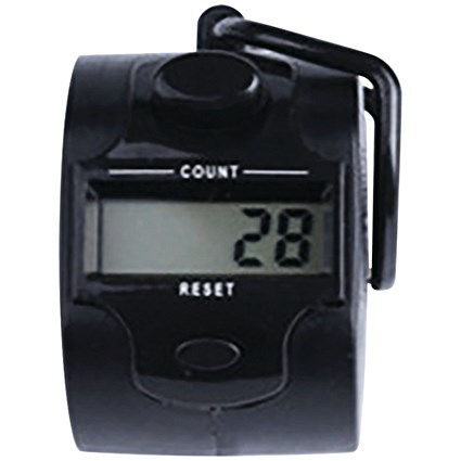 Q-Connect Digital Tally Counter Black