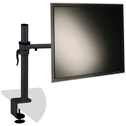 Q-Connect Flat Screen Monitor Arm with Dual Swing