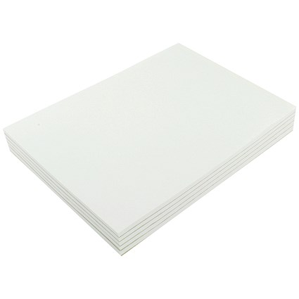 Q-Connect Memo Pad, A4, Plain, 80 Leaf, Pack of 10