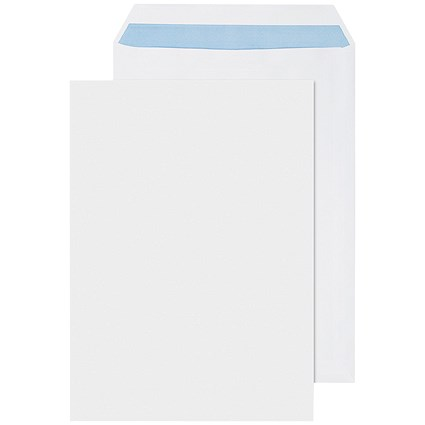 Q-Connect C4 Envelopes Self Seal White 100gsm (Pack of 250)