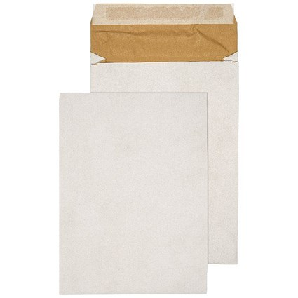 Q-Connect Padded Gusset Envelopes C4 324x229x50mm Peel and Seal White (Pack of 100)