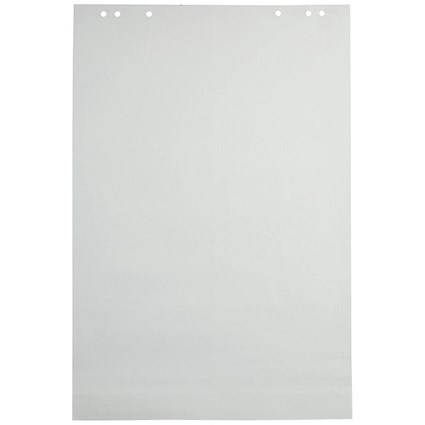 Q-Connect Flipchart Pad, Plain, A1, Pack of 5