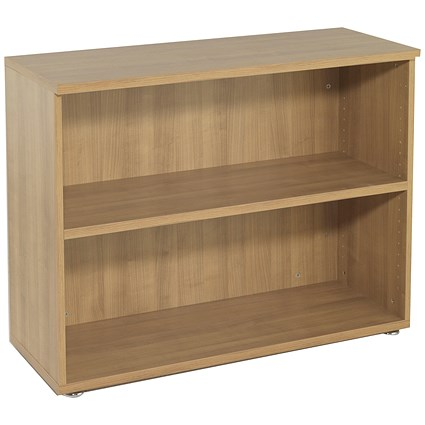 Avior Low Bookcase, 800mm High, Ash
