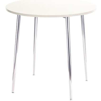 Arista Round Bistro Table - White