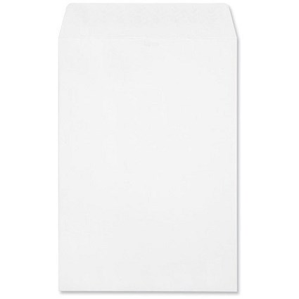 Croxley Script C4 Pocket Envelopes / Pure White / Peel & Seal / 120gsm / Pack of 250