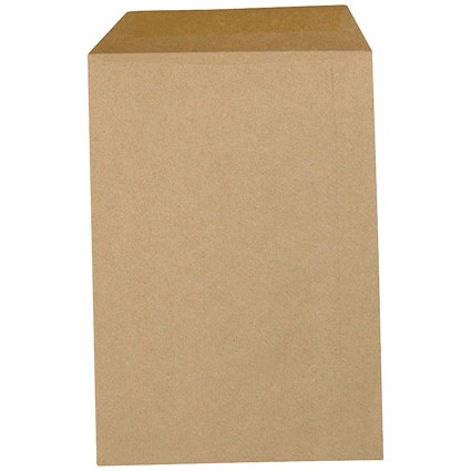 5 Star Plain C4 Envelopes / Manilla / Gummed / 80gsm / Pack of 500