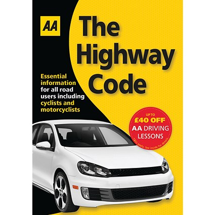 AA The Highway Code Book (AA Driving Test)