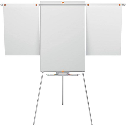 Nobo Tripod Easel, Nano Clean Drywipe, Magnetic, Extendable Display Arms