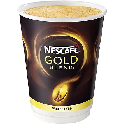 Nescafe & Go Gold Blend White Coffee - Sleeve of 8 Cups