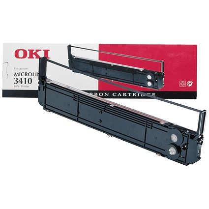 Oki 09002308 Black Ribbon Cassette (For 3410)