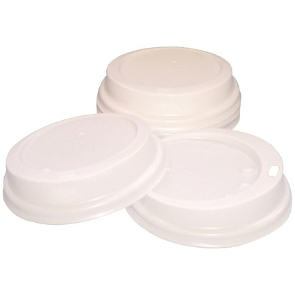 Caterpack 35cl Paper Cup Sip Lids White (Pack of 100)