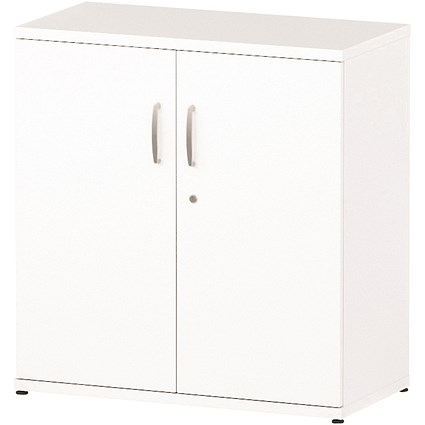 Impulse Low Cupboard - White