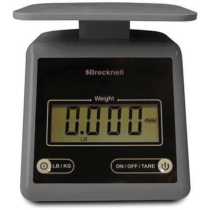 Brecknell PS/7 Compact Postal Scale - Grey