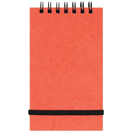 Silvine Elasticated Pocket Notepad 76x127mm 192 Pages (Pack of 12)