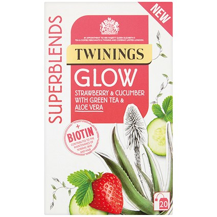 Twinings SuperBlends Glow HT (Pack of 20)