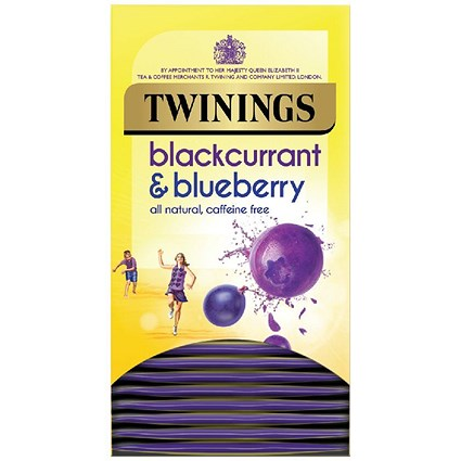Twinings Blackcurrant and Blueberry Pack of 20