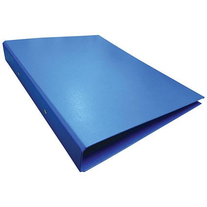 2-Ring Slim Line Ring Binder A4 25mm Blue (Pack of 10)