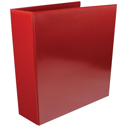 Red 65mm 4D Presentation Ring Binder (Pack of 10)