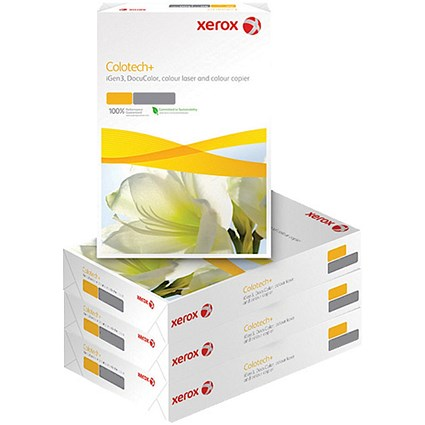 Xerox Colotech+ A4 Paper / White / 120gsm / Box (4 x 500 Sheets)
