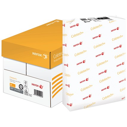 Xerox Colotech+ A4 Paper / White / 220gsm / Box (4 x 250 Sheets)