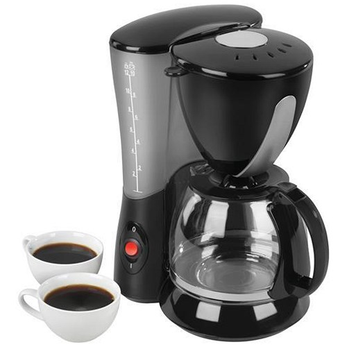 Filter Coffee Maker / 12 Cup Capacity / Black