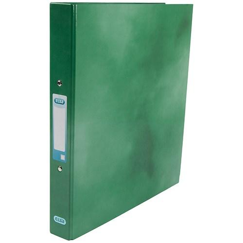 Elba Ring Binder / A4 / Gloss Finish / 25mm Capacity / Green