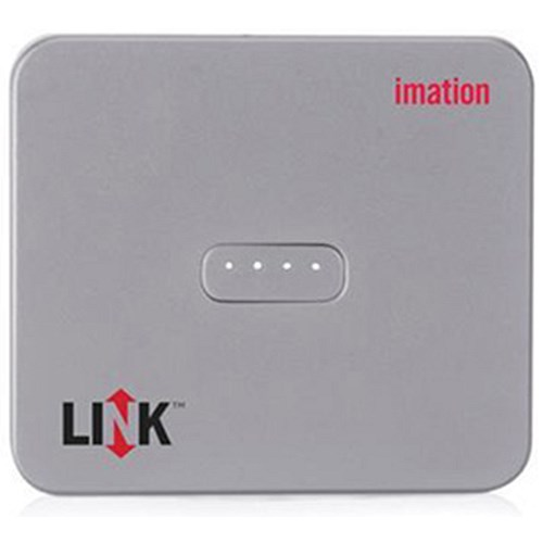 Portable Iphone Storage : Imation link power drive portable storage and for