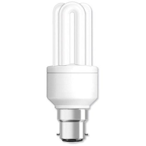 Ge Light Bulb Energy Saving Compact Fluorescent Bayonet Fitting 14w
