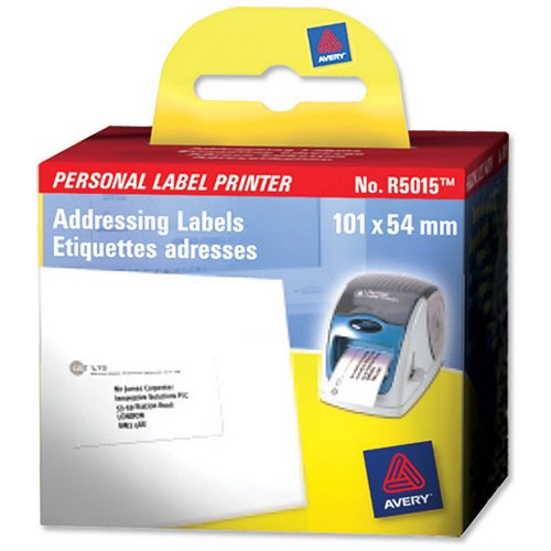 Custom Card Template avery label printer : Avery Label Printer Roll Addressing Labels 101x54mm [Roll ...