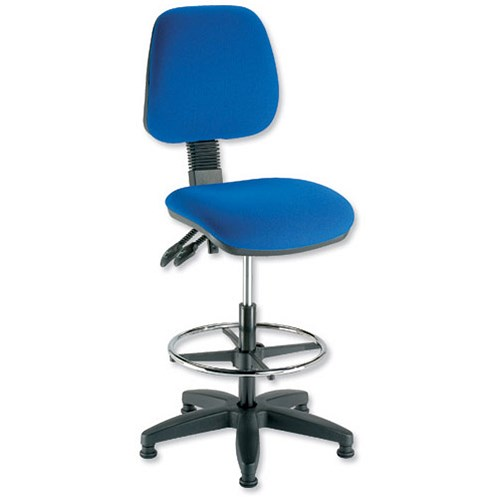 Trexus Folding Checkout Chair Blue