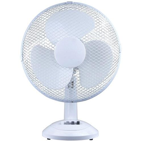 Small Oscillating Desk Fan : Star desk fan oscillating quot tilt and lock