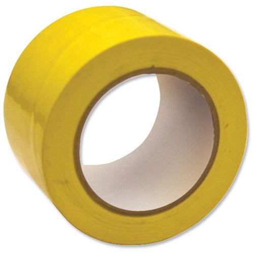 Image Of Floor Marking Tape Heavy Duty Yellow 75mmx33m