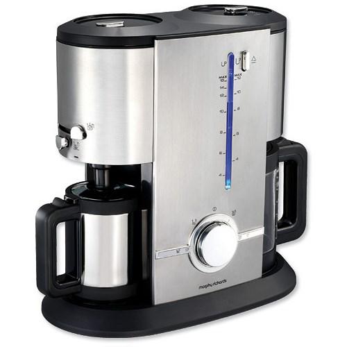 Morphy Richards Filter Coffee Maker Replacement Jug : Morphy Richards Aspects Filter Espresso Coffee Machine