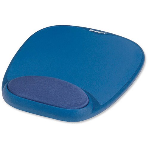 Kensington Mouse Pad with Wrist Pillow Blue product