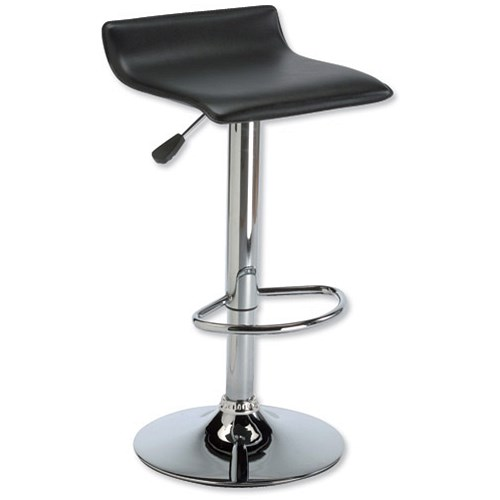 Influx J Seat Bar Stool Height adjustable with Footrest  : 712091 from www.paperstone.co.uk size 500 x 500 jpeg 18kB