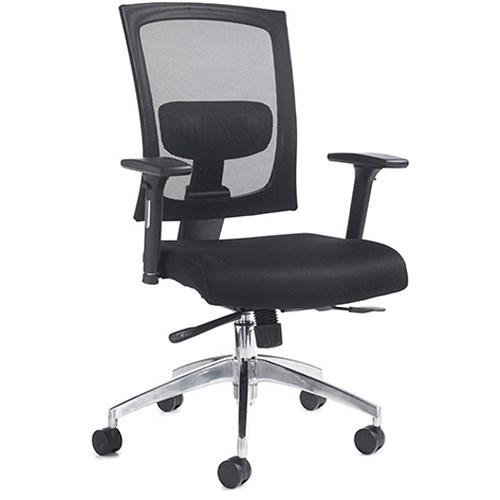 Gemini 300 Mesh Task Chair Adjustable Arms Black