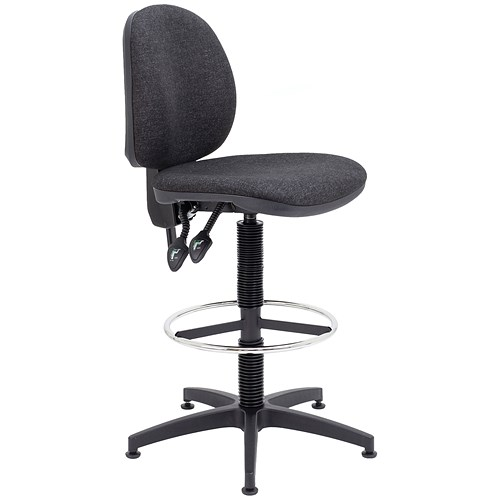 Arista High Rise Chair Charcoal