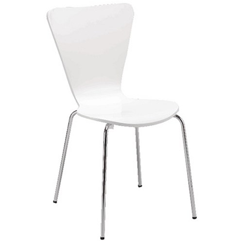 Arista Bistro Chair White